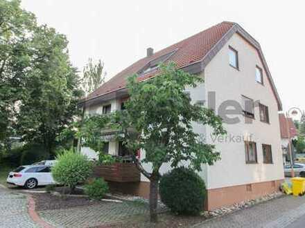Gut geschnitten und mit Südostbalkon: Vermietete 4-Zi.-ETW mit großem Balkon in der Region Stuttgart