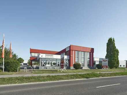 Zentrale Verkaufsfläche im Gewerbegebiet Aachener Kreuz - provisionsfrei