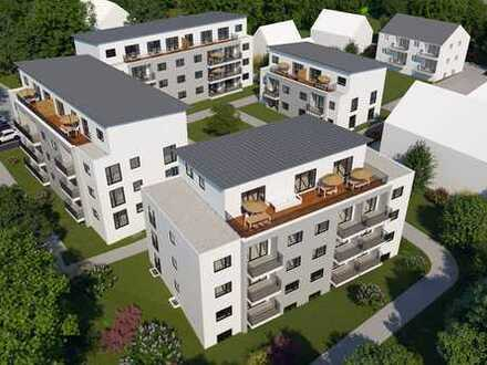 Erstbezug mit EBK und Balkon: stilvolle 3-Zimmer-Wohnung in Taufkirchen (Vils)
