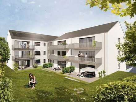 Neubauprojekt: helle Maisonette Eigentumswohnung mit Balkon und zwei Bädern