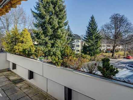 Charmantes, renoviertes Appartment in bester Lage an der Isar in Grünwald