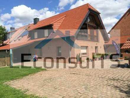 Charmant in Barby ++ hochwertiges Einfamilienhaus mit Einliegerwohnung Pool, Sauna und Kamin