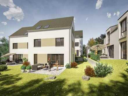 Moderne Doppelhaushälfte - Neubauprojekt in der Planung