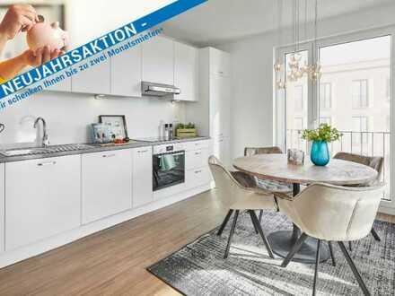 Neubau-Erstbezug! Hochwertige 4-Zimmer-Wohnung mit tollem Wasserblick