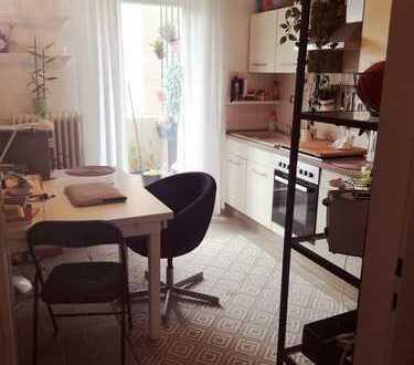 1 Zimmer Wohnung plus Wohnküche plus Bad in ruhigem Haus in MA-Neckarstadt-WEST
