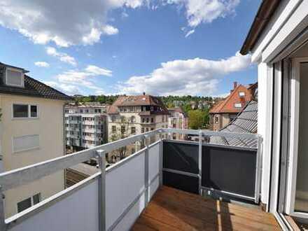 Dachgeschoss Maisonette-Wohnung in Stuttgart-West