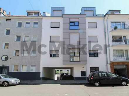Neu, hochwertig, zentral: 1-Zi.-Apartment mit Terrasse und TG-Stellplatz - innenstadtnah!