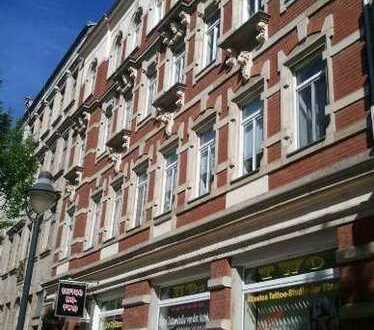 Gut geschnittene 4-Raum-Maisonette-Wohnung im DG in der Bahnhofsvorstadt