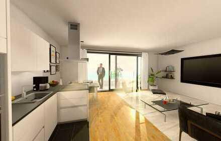 Schön geschnittene 2,5-Zimmer-Wohnung (B-1) / 78,59 m² / EG mit Gartenanteil / inkl. Top-Küche
