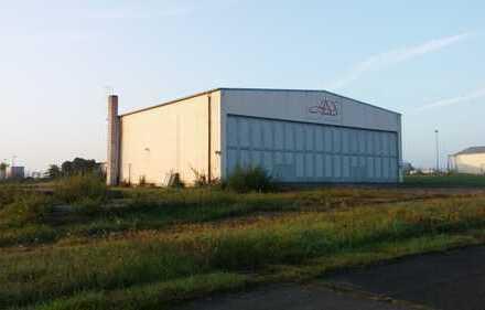 Geräumige Lagerhalle am Flugplatz Zweibrücken