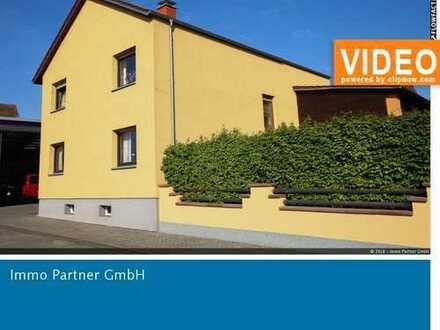 PROVISIONSFREI - Einfamilienhaus mit Garten und 2 vermieteten Gewerbe-/Lagerhallen in Hördt