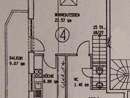 Exklusive, gepflegte 4-Zimmer-Maisonette-Wohnung mit Balkon in ruhiger Lage (Bamlach, Ortsrand)