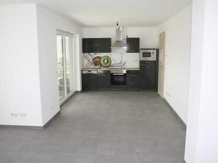 Lichtdurchflutete stilvolle 2-Zimmer Wohnung, schöne EBK und Terrasse !