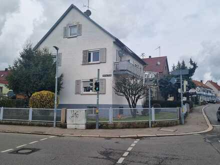 Baugrundstück mit Altbestand in Sindelfingen.