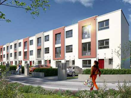Abwechslungsreich, attraktiv und zum Wohlfühlen: modernes Reihenhaus mit 5 Zimmern und 3 Wohnetagen