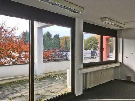 Büro mit Terrasse - hell - ruhig - preiswert!