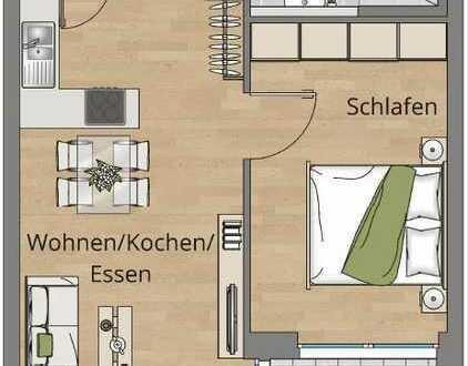 Gemütliche 2-Zimmer-Wohnung im 1. OG (Whg. 12) - Besichtigung Sonntag, 09.08., 11 - 12 Uhr