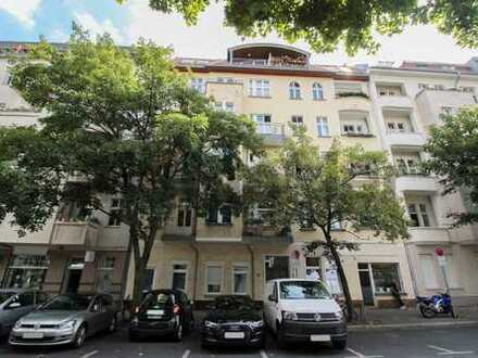 Renovierte, helle 2-Zi.-Maisonette mit uneinsehbarem Balkon in ruhiger Wohnlage in Prenzlauer Berg
