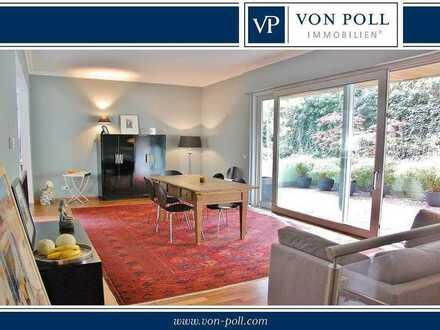 Topgepflegte 5-Zimmer-Maisonette-Wohnung in Bestlage seitlich Biebricher Allee