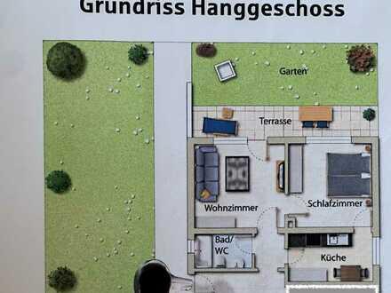 Stilvolle, gepflegte 2-Zimmer-Wohnung mit Terrasse in Niefern