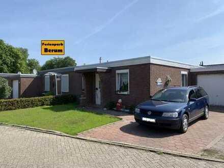 Niedliche Doppelhaushälfte mit Garage in beliebter Lage des Ferienparks Berum!