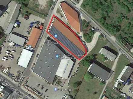 Produktions- und Lagerhalle zu vermieten / BEHEIZT / RAMPE / SANITÄRE EINRICHTUNGEN