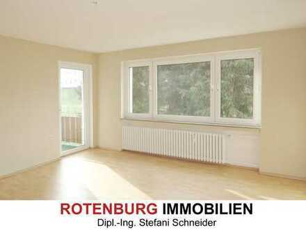3-Zi-Wohnung im 1.OG mit Balkon in stadtnaher Lage von Rotenburg