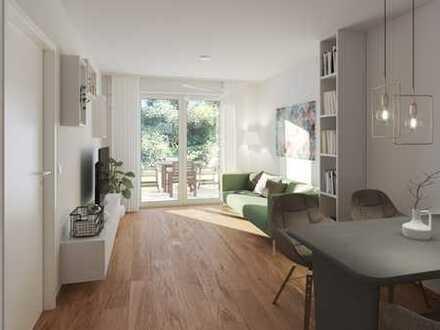 Elegante 2-Zimmer-Wohnung mit Balkon - KfW 40+