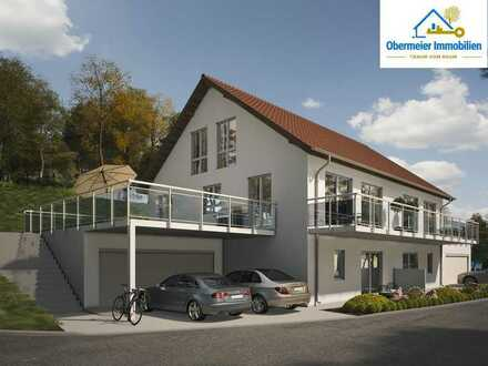 Neubau-Doppelhaus in exponierter Lage
