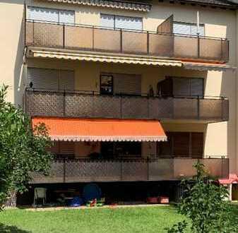 Ruhige 3 ZKB Erdgeschosswohnung in MA-Feudenheim in Feldrandlage