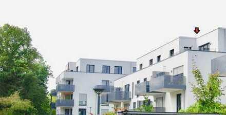 Neubau-Penthouse mit großer Sonnenterrasse+Luxusküche- Nähe Bonn-Hochkreuz-