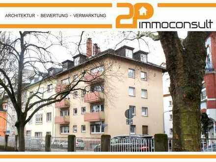 FRANKFURT-RÖDELHEIM: Solides Mehrfamilienhaus mit 15 Wohneinheiten und ca. 626 m² WNF