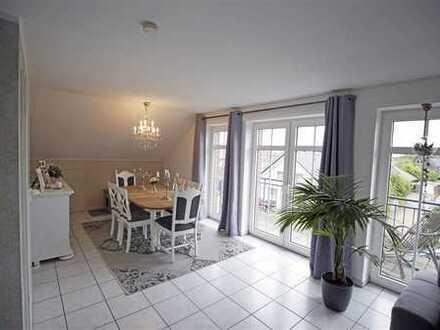 3-Zimmer-DG-Wohnung mit 3 Balkonen in Weseke!!!