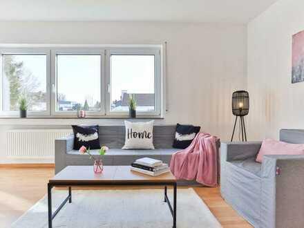 KAUFEN STATT MIETEN:  helle 4-Zimmer-Wohnung mit großzügigem Stellplatz in Weißenhorn