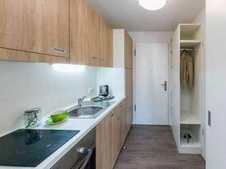 Exklusive 1-Zimmer-Wohnung mit Balkon und EBK in Bayern - Neu Ulm