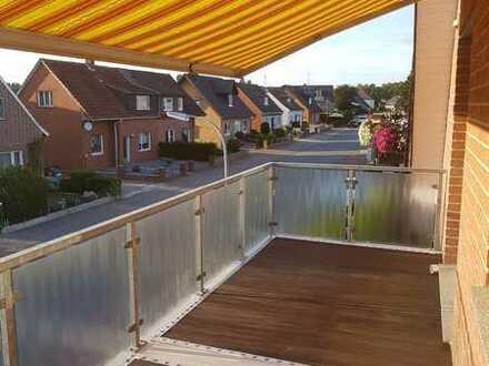 Schöne 4 Zi.-Wohnung mit großem Südbalkon in Dorsten Rhade