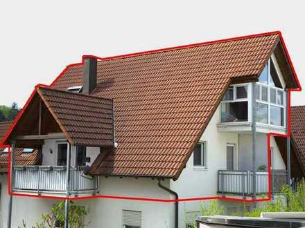 Exkl. 3 Zi. Maisonette-Wohnung mit 2 Balkonen und Wintergarten !Privatverkauf-keine Maklerprovision!