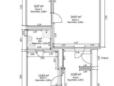 Gemütliche 3-Raum-Wohnung in der Altstadt