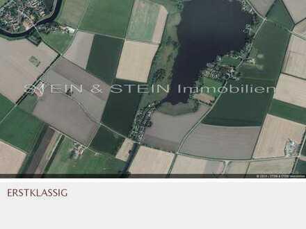 UPHUSER MEER: EIGENTUMS - BAUGRUNDSTÜCK direkt am Kanal!!! Neubau nach B-Plan möglich