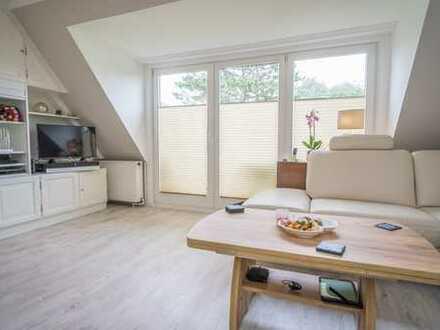 Sehr schöne Maisonette-Wohnung im Herzen von Tinnum, mit Süd-Balkon