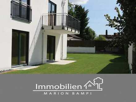 Neubau! - Traumhafte 3-Zi-Wohnung mit großem Garten!