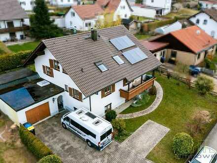 Schönes, gepflegtes Einfamilienhaus mit Einliegerwohnung in Boos