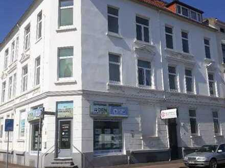3 ZKB im Erdgeschoss + Balkon Wilhelmshaven Nähe Heppens