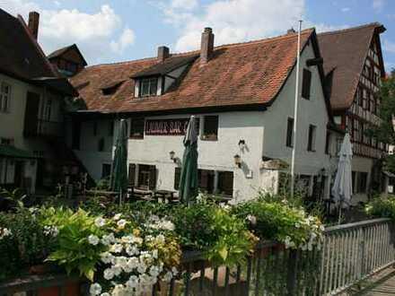 Historische Gaststätte im Zentrum Schwabachs mit Wirtswohnung