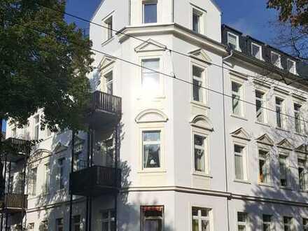 Gemütliche 3-Raum-Wohnung mit Balkon im Erdgeschoss