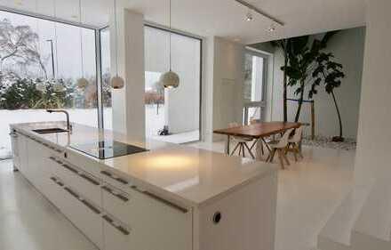 Loft style luxury duplex fully furnished 20 min to Frankfurt