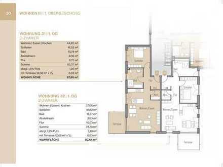 2-Zimmerwohnung im 1. OG mit Lift und Balkon (Whg 31)