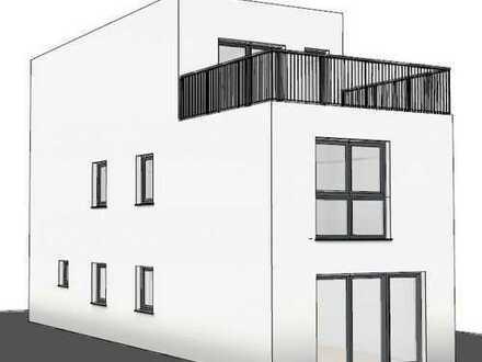 Neubau Bauhaus mit Dachterrasse, 350m² Grundstück, massiv, in Dortmund Brackel!