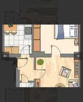 Ansprechende 2-Zimmer-Erdgeschosswohnung in Bochum