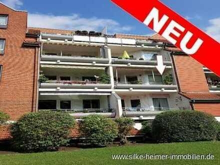! Super Lage direkt am Lesumdeich - tolle 2 Zimmer Wohnung mit Balkon, Wintergarten und Stellplatz !